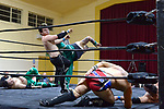 NELSON, NEW ZEALAND - OCTOBER 5: New Street Steakhouse Waka Warfare - Nelson Professional Wrestling, Stoke Hall, Nelson, New Zealand. Saturday 5th October 2019. (Photos by Barry Whitnall/Shuttersport Limited)