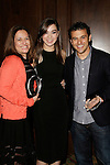 LOS ANGELES - DEC 4: Sharon Lieblein, Hailee Steinfeld, Fred Savage at The Actors Fund's Looking Ahead Awards at the Taglyan Complex on December 4, 2014 in Los Angeles, California
