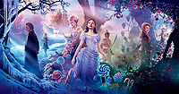 Promotional art with Mackenzie Foy, Keira Knightley, Morgan Freeman, Helen Mirren & Jayden Fowora-knight.<br /> The Nutcracker and the Four Realms (2018) <br /> *Filmstill - Editorial Use Only*<br /> CAP/RFS<br /> Image supplied by Capital Pictures