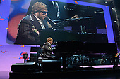 SUNRISE FL - MARCH 16: Sir Elton John performs during his 'Farewell Yellow Brick Road' tour at The BB&T Center on March 16, 2019 in Sunrise, Florida. Photo by Larry Marano © 2019