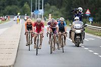 Race leaders: Mathieu van der Poel (NED/Beobank-Corendon), Dimitri Claeys (BEL/Cofidis), Taco van der Hoorn (NED/Roompot-Nederlandse Loterij), Wout Van Aert (BEL/V&eacute;randas Willems-Crelan) &amp; Olivier Pardini (BEL/WB Veranclassic-Aqua Protect)<br /> <br /> Dwars door het Hageland (1.1)<br /> 1 Day Race: Aarschot &gt; Diest (194km)