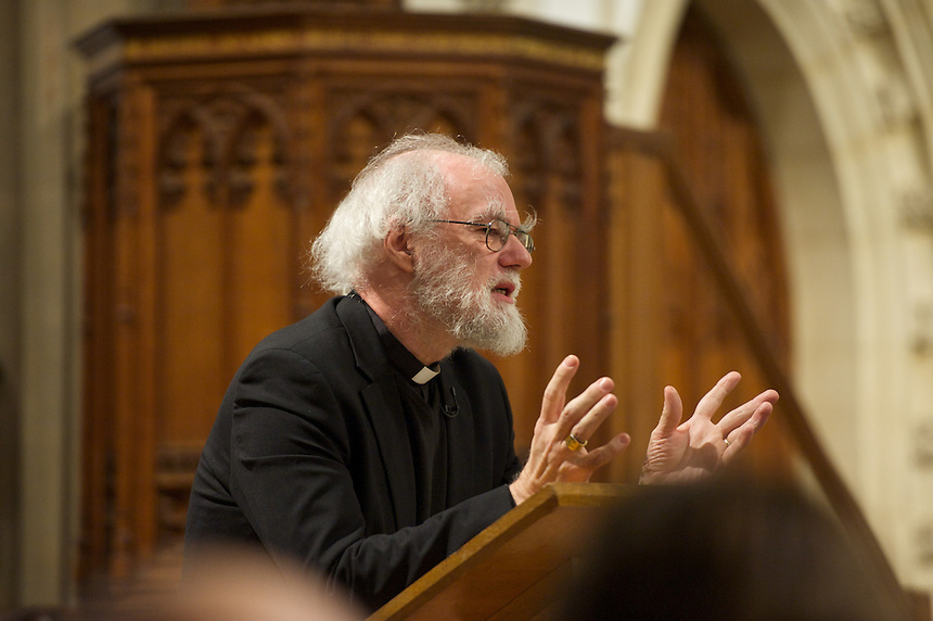 Rowan Williams at<br /> St Peter's College