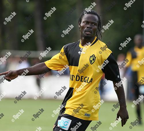 2009-07-20 / voetbal / seizoen 2009-2010 / KSK Lierse / Akwetey Mensah ..Foto: Maarten Straetemans (SMB)