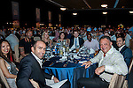 Guests attend Sportsman's Dinner ahead of the HKFC Citibank Soccer Sevens 2015 on May 28, 2015 at the Hong Kong Football Club in Hong Kong, China. Photo by Xaume Olleros / Power Sport Images