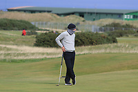 Marcel Siem (GER) on the 16th during round 4 of the Alfred Dunhill Links Championship at Old Course St. Andrew's, Fife, Scotland. 07/10/2018.<br /> Picture Thos Caffrey / Golffile.ie<br /> <br /> All photo usage must carry mandatory copyright credit (&copy; Golffile | Thos Caffrey)