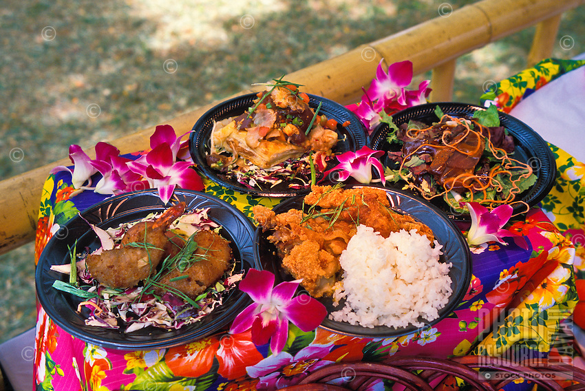 """Scenes from the annual """"""""Taste of Honolulu"""""""" festival include a wide variety of foods, music and cultural events."""