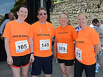 Joanne Kavanagh, Kevin McHugh, Dolores Khan and Susan Woods who ran the Dunleer 4 mile run. Photo:Colin Bell/pressphotos.ie