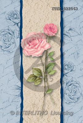 Isabella, FLOWERS, paintings, roses, blue stripes(ITKE022063,#F#) Blumen, flores, illustrations, pinturas ,everyday