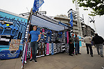 Tottenham Hotspur memorabillia outside the stadium. English Premier League match at the White Hart Lane Stadium, London. Picture date: April 30th, 2017.Pic credit should read: Robin Parker/Sportimage