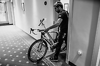 hotel-life at the Trek-Segafredo team hotel<br /> <br /> Stage 15: Valdengo › Bergamo (199km)<br /> 100th Giro d'Italia 2017