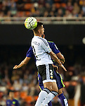 Valencia's Joao Cancelo   during La Liga match. October 17, 2015. (ALTERPHOTOS/Javier Comos)