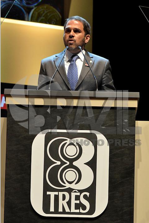 SÃO PAULO, SP – 28.08.2014 – PRÊMIO DINHEIRO 2014 – Entrega do Prêmio Dinheiro 2014, promovido pela revista Isto é Dinheiro, no Citbank Hall, nesta quinta-feira, 28. (Foto: Ricardo Botelho/Brazil Photo Press)