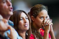 Supporters<br /> Swimming<br /> 15th FINA World Aquatics Championships<br /> Palau Sant Jordi, Barcelona (Spain) 04/08/2013 <br /> © Giorgio Perottino / Deepbluemedia.eu / Insidefoto