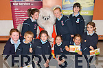 "SAVING: Second Class pupils from Ardfert National School at the launch of the Tralee Credit Union ""Save With Ellie The Elephant "" scheme for school in the region. The launch took place in Ardfert NS on Thursday..Front L/r. Christine Doherty, David Fitzgerald, Amy Casey, Aoife Lyne, Armela Antz, Mollie Walsh..Back L/r. Conagh Fitzgerald, Ailise Ryan and Vicki Perry.   Copyright Kerry's Eye 2008"