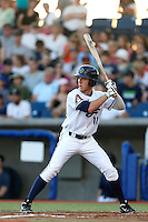 Brian Billigen #18 of the Hillsboro Hops bats against the Spokane Indians at Hillsboro Ballpark on July 22, 2013 in Hillsboro Oregon. Spokane defeated Hillsboro, 11-3. (Larry Goren/Four Seam Images)