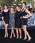 Kylie Jenner, Kourtney Kardashian, Kim Kardashian & Kendall Jenner at the Summit Entertainment's Premiere of The Twilight Saga : Eclipse held at the Los Angeles Film Festival at Nokia Live in Los Angeles, California on June 24,2010                                                                               © 2010 Debbie VanStory / Hollywood Press Agency