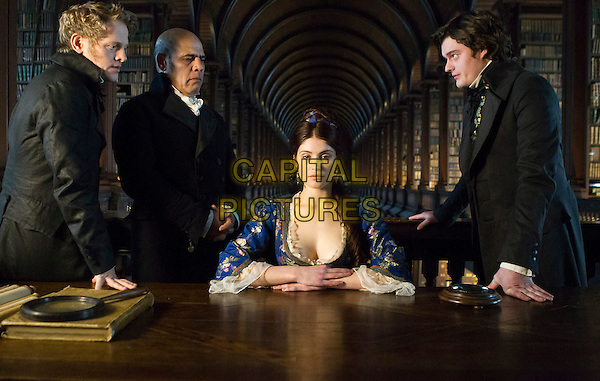 Thure Lindhardt, Uri Gavriel, Gemma Arterton, Sam Riley<br /> in Byzantium (2012) <br /> *Filmstill - Editorial Use Only*<br /> CAP/FB<br /> Supplied by Capital Pictures