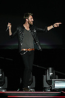 03/27/12 Los Angeles, CA: Charles Kelley of Lady Antebellum performs at Staples Center during their Own the Night 2012 World Tour