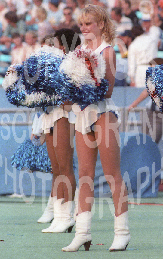 Toronto Argonauts Cheerleader. Photo F. Scott Grant