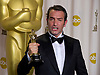 "JEAN DUJARDIN .winner of the Best Actor Award at the 84th Academy Awards, Kodak Theatre, Hollywood, Los Angeles_26/02/2012.Mandatory Photo Credit: ©Dias/Newspix International..**ALL FEES PAYABLE TO: ""NEWSPIX INTERNATIONAL""**..PHOTO CREDIT MANDATORY!!: NEWSPIX INTERNATIONAL(Failure to credit will incur a surcharge of 100% of reproduction fees)..IMMEDIATE CONFIRMATION OF USAGE REQUIRED:.Newspix International, 31 Chinnery Hill, Bishop's Stortford, ENGLAND CM23 3PS.Tel:+441279 324672  ; Fax: +441279656877.Mobile:  0777568 1153.e-mail: info@newspixinternational.co.uk"