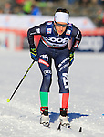 Virginia De Martin Topranin competes during the FIS Cross Country Ski World Cup 10 Km Individual Classic race in Dobbiaco, Toblach a, on December 20, 2015. Norway's Therese Johaug wins. Credit: Pierre Teyssot