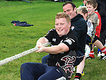 Tug of War fun at the Ardee Rugby Club open day. Photo: Colin Bell/pressphotos.ie
