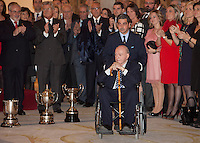 Alfredo Di Stefano attend the National Sports Awards ceremony at El Pardo Palace. December 05, 2012. (ALTERPHOTOS/Caro Marin) NortePhoto