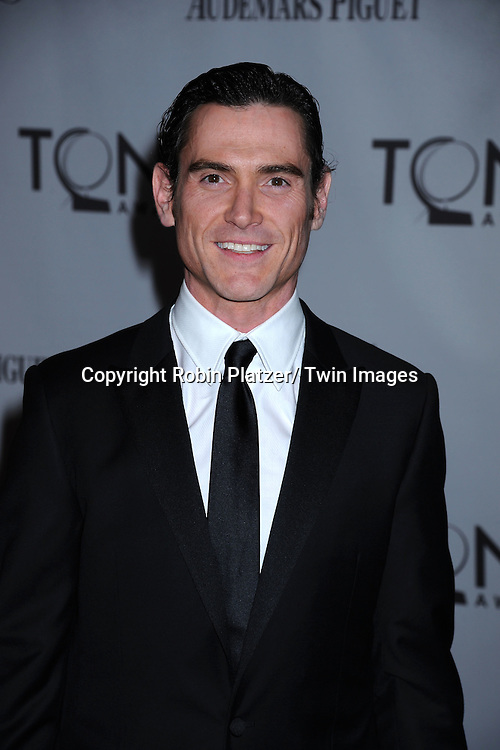 Billy Crudup attending the 65th Annual Tony Awards at the Beacon Theatre in New York City on June 12, 2011.