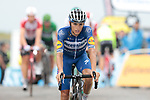 Enric Mas (ESP) Deceuninck-Quick Step crosses the finish line  at the end of Stage 15 of the 2019 Tour de France running 185km from Limoux to Foix Prat d'Albis, France. 20th July 2019.<br /> Picture: Colin Flockton | Cyclefile<br /> All photos usage must carry mandatory copyright credit (© Cyclefile | Colin Flockton)