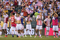 Action photo during the match USA vs Paraguay at Lincoln Financial Field, Copa America Centenario 2016. ---Foto  de accion durante el partido USA vs Paraguay, En el Lincoln Financial Field, Partido Correspondiante al Grupo - D -  de la Copa America Centenario USA 2016, en la foto: BENITEZ
