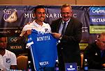 Presentación de refuerzos de Millonarios para la Liga Águila I-2018.