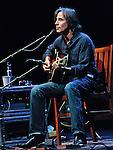 Jackson Browne peforms at EJ Thomas Hall in Akron, Ohio on September 26, 2011.