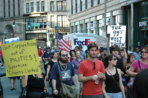 Occupy Boston 99% Columbus Day Rally