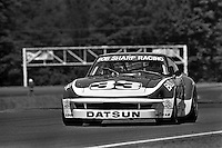 Sam Posey drives a Datsun 260Z during a Camel GT IMSA race at Brainerd International Raceway near Brainerd, Minnesota, on June 18, 1978. (Photo by Bob Harmeyer)