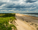 Plum Island beach at the Parker River National Wildlife Refuge in Newburyport, Massachusetts, USA