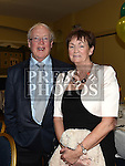 Thomas and Mary Connor pictured at the Naomh Fionnbarra JFC celebration and presentation night in the Grove House Dunleer. Photo:Colin Bell/pressphotos.ie