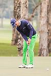 Matteo Manassero of Italy plays a shot during the day four of UBS Hong Kong Open 2017 at the Hong Kong Golf Club on 26 November 2017, in Hong Kong, Hong Kong. Photo by Marcio Rodrigo Machado / Power Sport Images