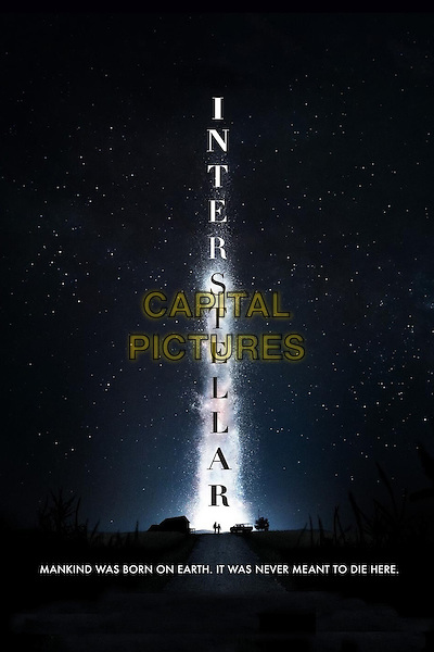 POSTER ART<br /> in Interstellar (2014) <br /> *Filmstill - Editorial Use Only*<br /> CAP/NFS<br /> Image supplied by Capital Pictures