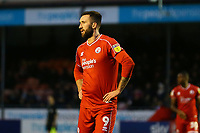 Ollie Palmer of Crawley Town during Crawley Town vs Bradford City, Sky Bet EFL League 2 Football at Broadfield Stadium on 11th January 2020