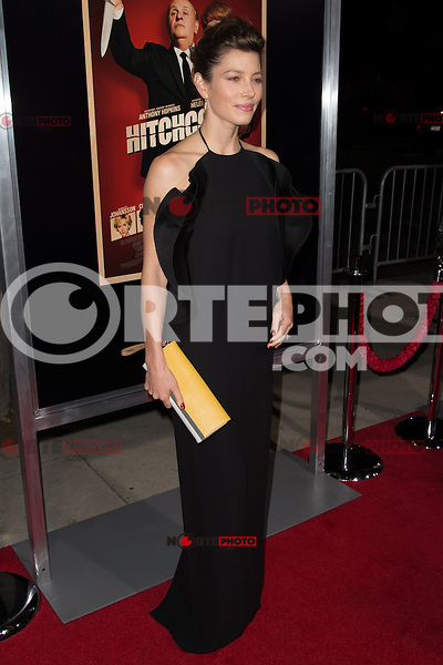 "November 20, 2012 - Beverly Hills, California - Jessica Biel at the ""Hitchcock"" Los Angeles Premiere held at the Academy of Motion Picture Arts and Sciences Samuel Goldwyn Theater. Photo Credit: Colin/Starlite/MediaPunch Inc"