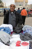 Tripoli, Libya - Libyan Clothing Vendor