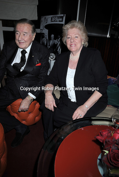 Sirio Maccioni and wife Egi