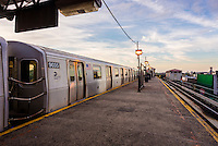 Astoria, NY, USA - End of the line at Ditmas Bouldvard elevated subway station ©Stacy Walsh Rosenstock