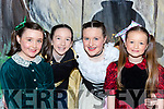 Clodagh O'Callaghan, Aine Moriarty, Norma Leader, Emily Reddington who performed in the Cinderella Panto in Rathmore Community Centre on Saturday