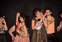 Palermo,attori durante il  laboratorio teatrale condotto da Emma Dante.<br /> Palermo, actors during a workshop with Emma Dante