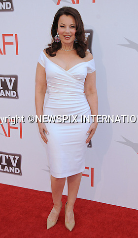 "FRAN DRESCHER.attends TV Land Presents: The AFI Life Achievement Awards Honoring Morgan Freeman at Sony Pictures Studios, Culver City, California_9 June 2011.Mandatory Photo Credit: ©Crosby/Newspix International. .**ALL FEES PAYABLE TO: ""NEWSPIX INTERNATIONAL""**..PHOTO CREDIT MANDATORY!!: NEWSPIX INTERNATIONAL(Failure to credit will incur a surcharge of 100% of reproduction fees)..IMMEDIATE CONFIRMATION OF USAGE REQUIRED:.Newspix International, 31 Chinnery Hill, Bishop's Stortford, ENGLAND CM23 3PS.Tel:+441279 324672  ; Fax: +441279656877.Mobile:  0777568 1153.e-mail: info@newspixinternational.co.uk"