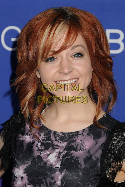 27 February 2014 - Culver City, California - Lindsey Stirling. Unite4:good and Variety Magazine Present &quot;Unite4:humanity&quot; held at Sony Pictures Studios. <br /> CAP/ADM/BP<br /> &copy;Byron Purvis/AdMedia/Capital Pictures