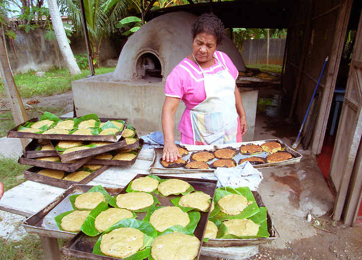 A tortilla and bread maker in Santa Cruz, Guanacaste, Costa Rica. Photo by Matt May