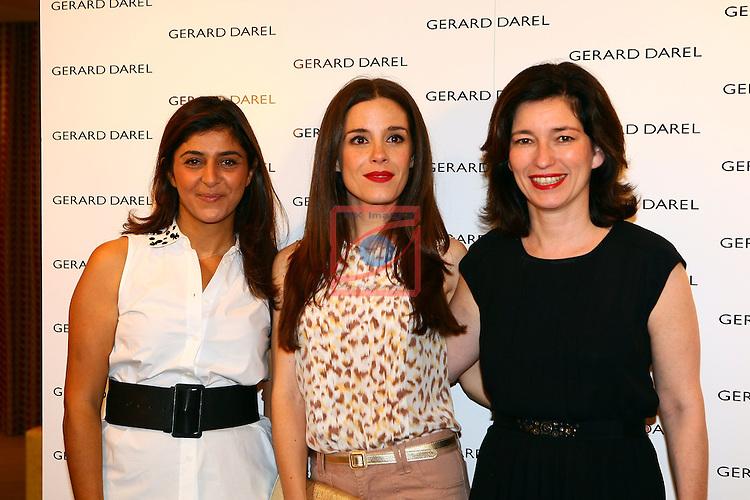Camille Naim, Nuria Gago & Marianne Romestain. Inauguracion tienda Barcelona GERARD DAREL.