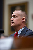 Former Campaign Manager of United States President Donald Trump's 2016 campaign Corey Lewandowski testifies before the United States House of Representatives Committee on the Judiciary on Capitol Hill in Washington D.C., U.S. on September 17, 2019.<br /> <br /> Credit: Stefani Reynolds / CNP